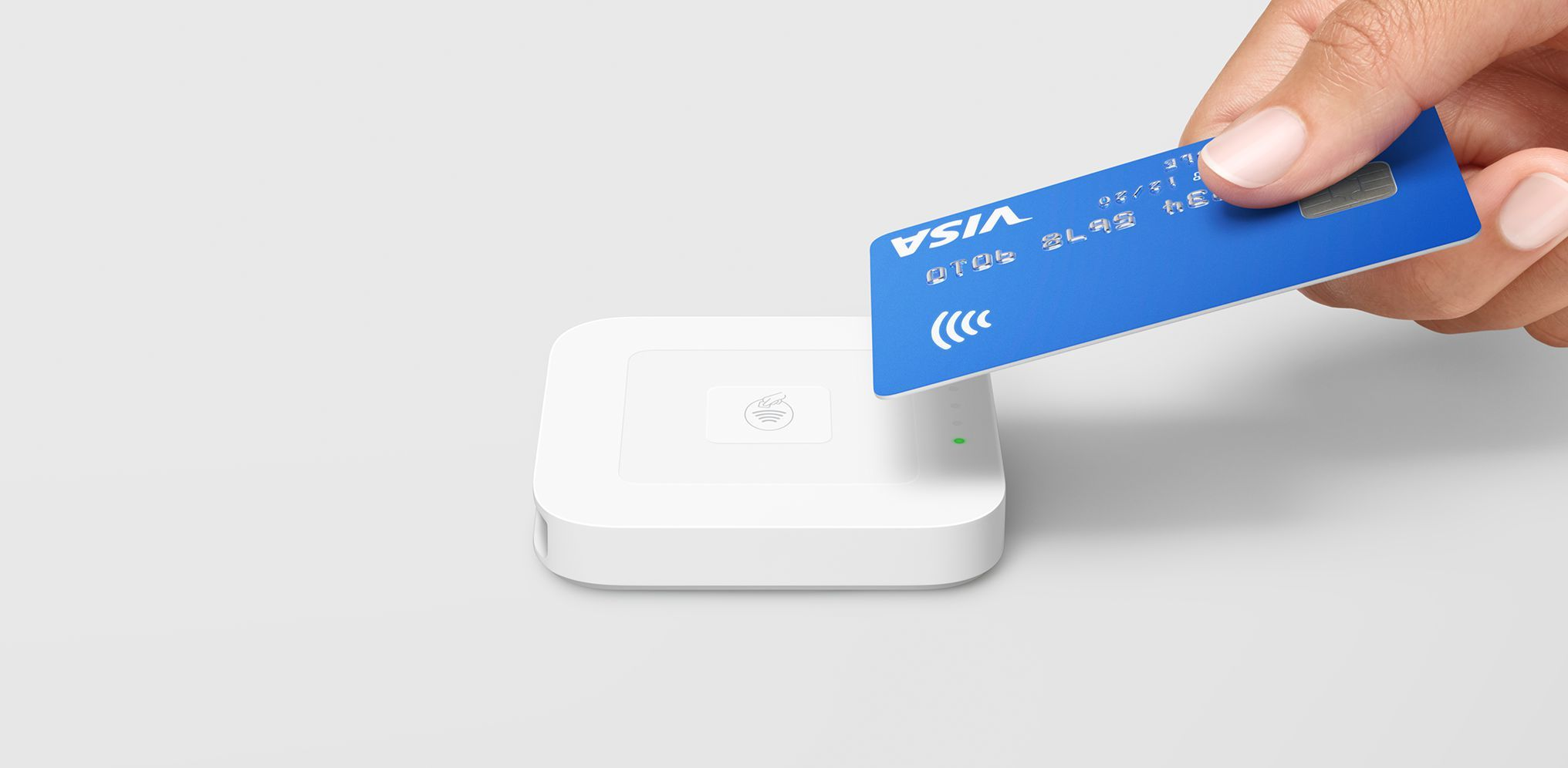 Square payment device