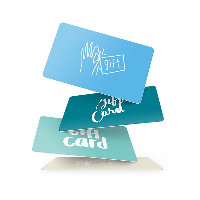 Bring in new customers with gift cards.