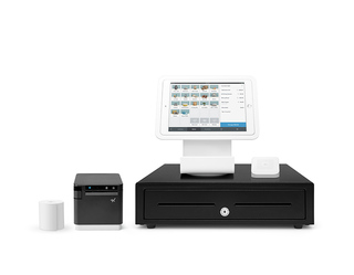 Square Stand Kit for iPad with USB/LAN Printer