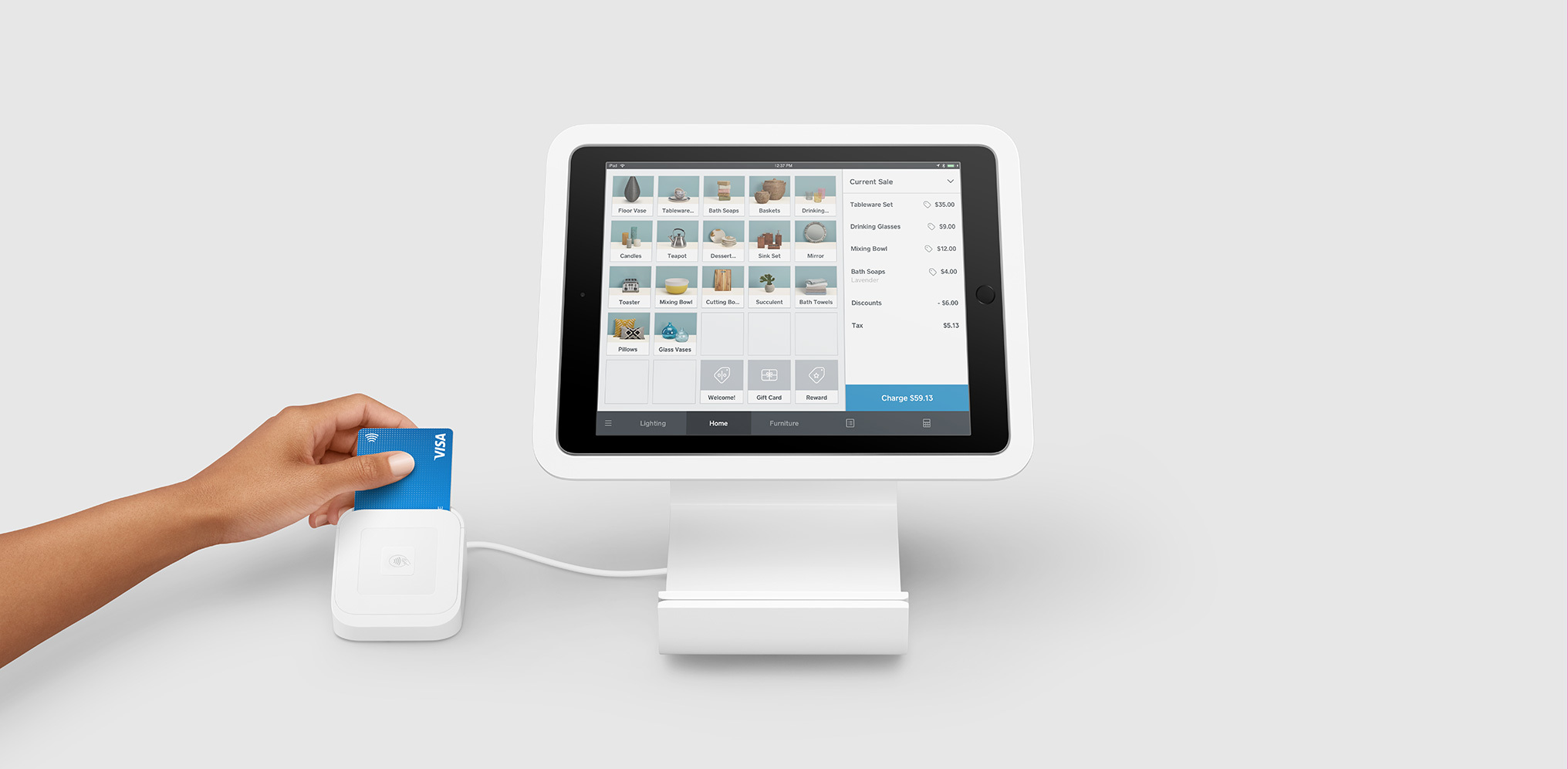 Square Stand for Contactless and Chip Square Shop