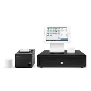Square Stand Kit for iPad with Ethernet Printer